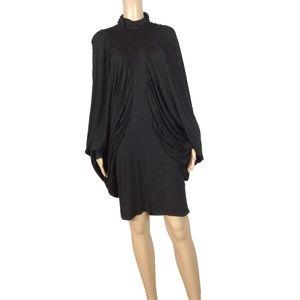 Like new! Desigual exaggerated batwing drape dress